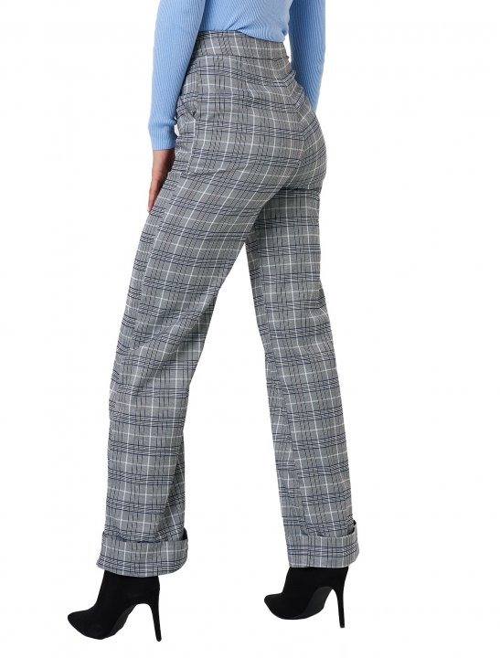 NA-KD Checkered Tapered Pants Clothing Naked