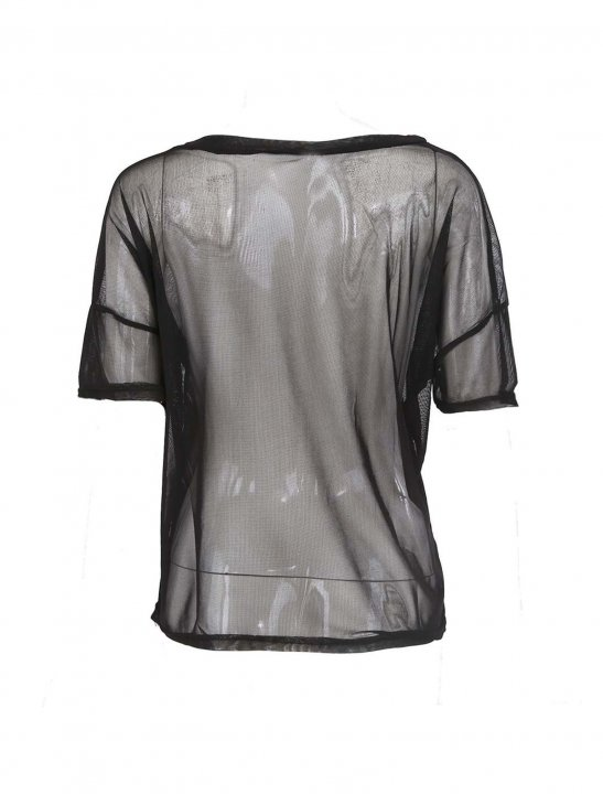 Sodial See-through T-Shirt Clothing Sodial