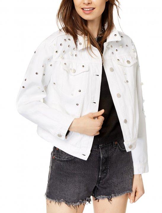 Tinseltown White Denim Jacket - Christina Aguilera