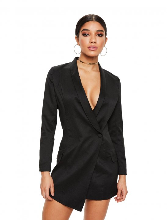 Missguided Blazer Dress - Enrique Iglesias