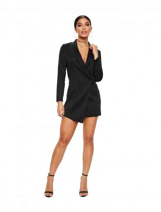 Missguided Blazer Dress Clothing Missguided