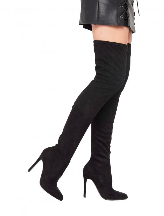 Misspap Over The Knee Boots Shoes Misspap