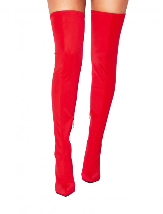 Missy Empire Thigh High Sock Boot - Enrique Iglesias