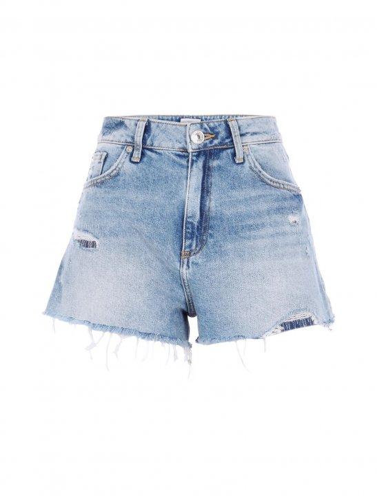 River Island Distressed Shorts - Enrique Iglesias