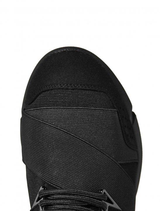 Cortica Black Canvas Trainers Shoes Cortica