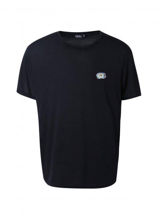 BoohooMAN Badge T-Shirt - Lethal Bizzle