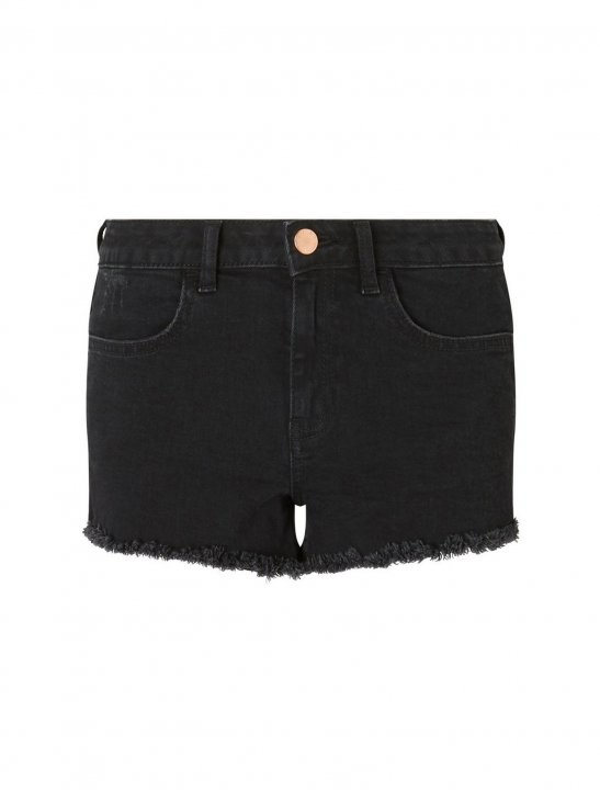 Miss Selfridge Black Shorts - Lethal Bizzle