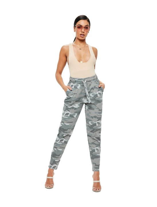 Missguided Camo Joggers Clothing Missguided