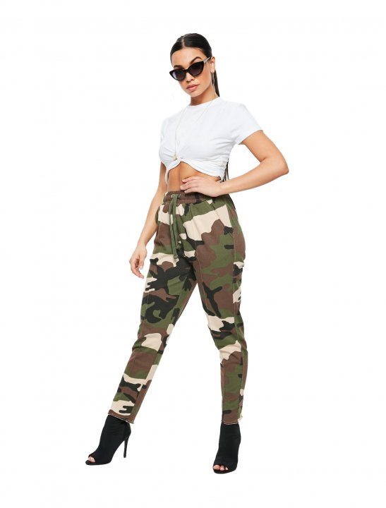 Missguided Camo Joggers - Lethal Bizzle