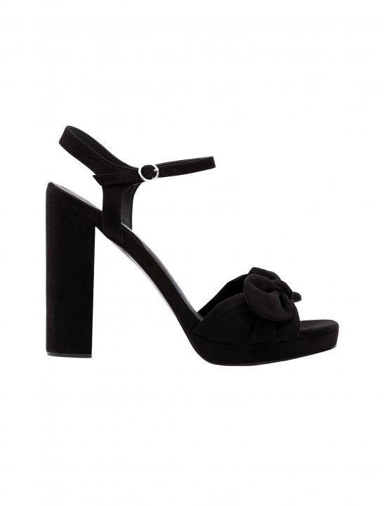 New Look Bow Strap Block Heels - Lethal Bizzle