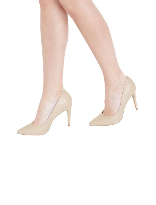 New Look Nude Court Shoes Shoes New Look