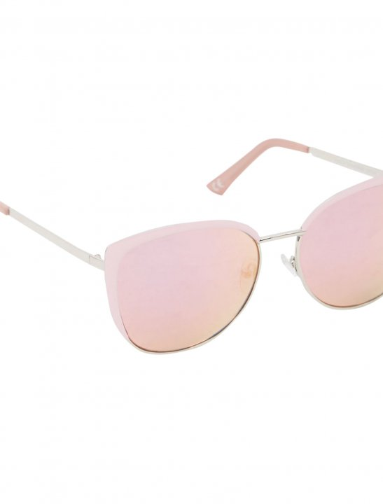 New Look Pink Retro Sunglasses Accessories New Look