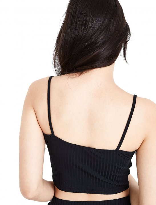 New Look Ribbed Bralet Clothing New Look