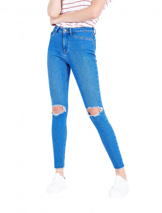 New Look Ripped Jeans - Lethal Bizzle