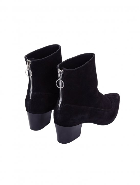 New Look Zip Back Boots Shoes New Look