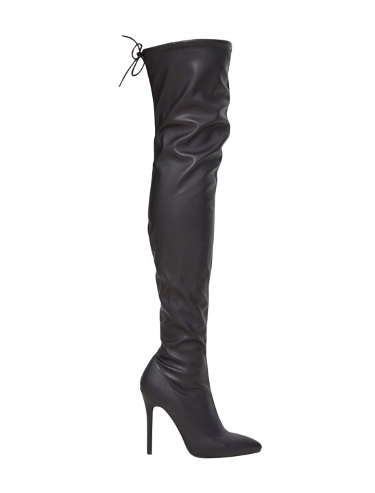 PLT Thigh High Boot - Lethal Bizzle