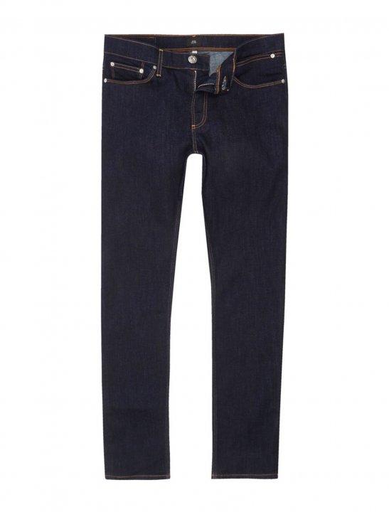 River Island Dark Blue Jeans - Lethal Bizzle