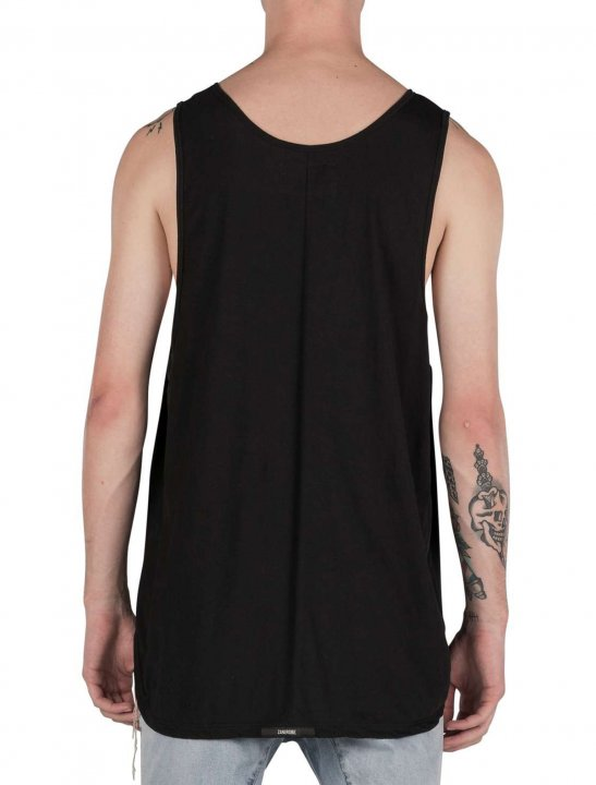 """BoohooMAN Longline Vest {""""id"""":5,""""product_section_id"""":1,""""name"""":""""Clothing"""",""""order"""":5} BoohooMAN"""