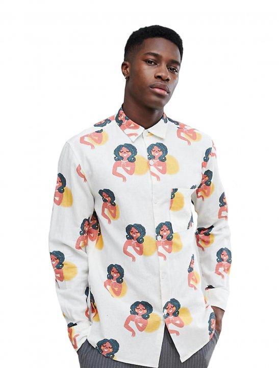 "Noak Oversized Shirt {""id"":5,""product_section_id"":1,""name"":""Clothing"",""order"":5} Noak"