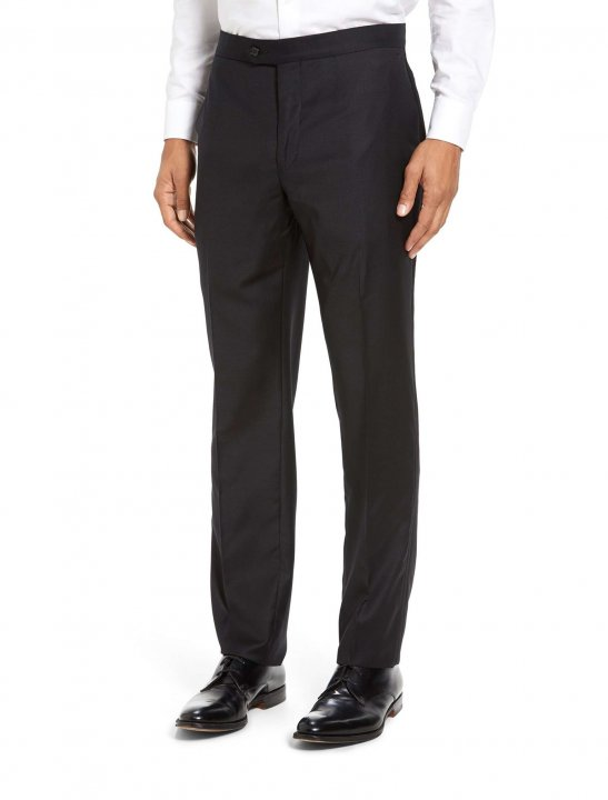 """Strong Suit Formal Wool Trousers {""""id"""":5,""""product_section_id"""":1,""""name"""":""""Clothing"""",""""order"""":5} Strong Suit"""