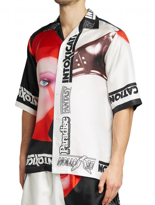 "Tom Grennan's Print Shirt {""id"":5,""product_section_id"":1,""name"":""Clothing"",""order"":5} Stella McCartney"