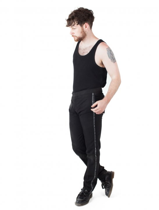 """Tom Grennan's Side Stripe Trousers {""""id"""":5,""""product_section_id"""":1,""""name"""":""""Clothing"""",""""order"""":5} Dior Homme"""