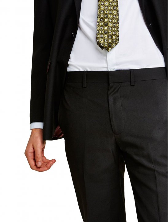 """Topman Black Slim Fit Trousers {""""id"""":5,""""product_section_id"""":1,""""name"""":""""Clothing"""",""""order"""":5} Topman"""